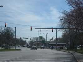 6) 1,917 red-light violations on southbound Reisterstown Road at Druid Park Drive.