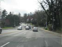 2) 18,735 speeding violations in the 200 block of westbound Northern Parkway at Springlake Way -- AND -- 1) 3,989 red-light violations.