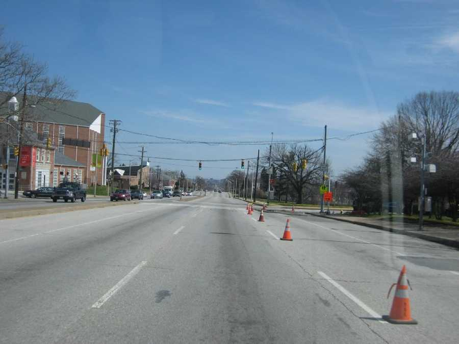 6) 10,755 speeding violations in the 4400 block of eastbound Edmondson Avenue at Athol Drive.