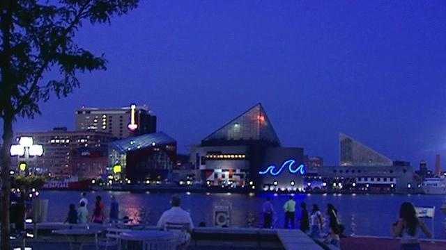 National Aquarium in Baltimore Blue Wave