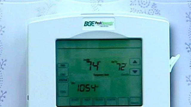 BGE smart meter - 21442424
