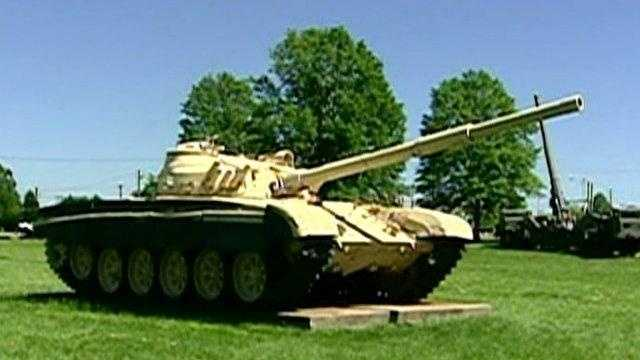 Aberdeen Proving Ground tank - 19531630