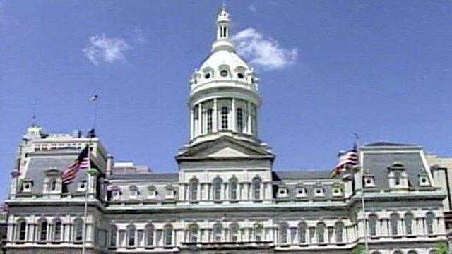 Baltimore City Hall - outside shot - 17602033