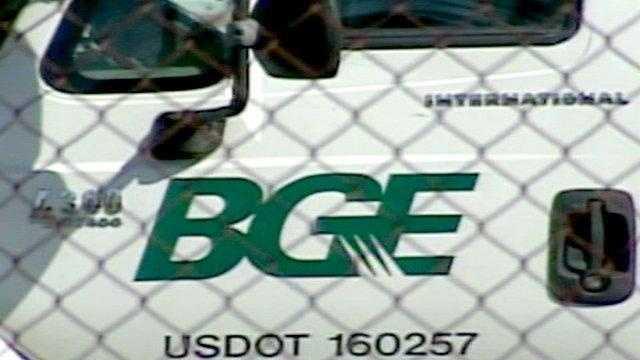 BGE truck, electricity, utility (generic BGE) - 15726989