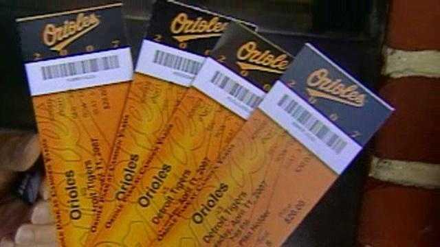 Orioles tickets