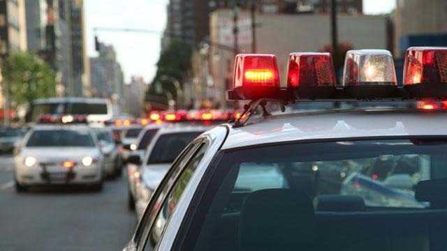 Police car, lights, generic