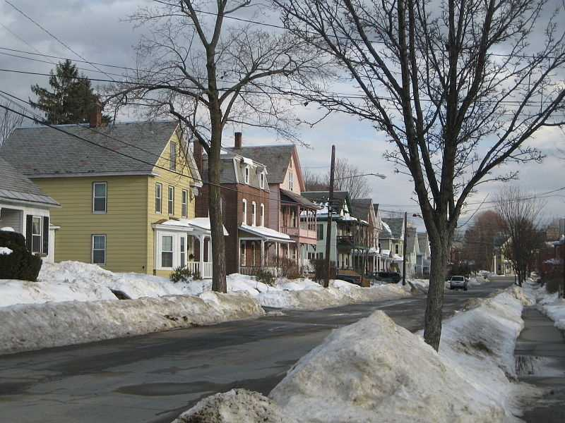 # 35 In Turners Falls, 14.7% of residents reported that they were divorced.