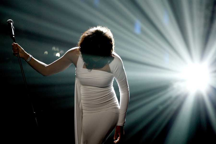Whitney Houston reigned as pop music's queen until her majestic voice and regal image were ravaged by drug use and erratic behavior. (August 9, 1963—February 11, 2012)