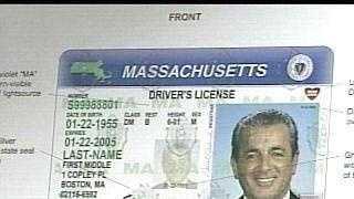 Mass. Drivers License, generic - 3647651