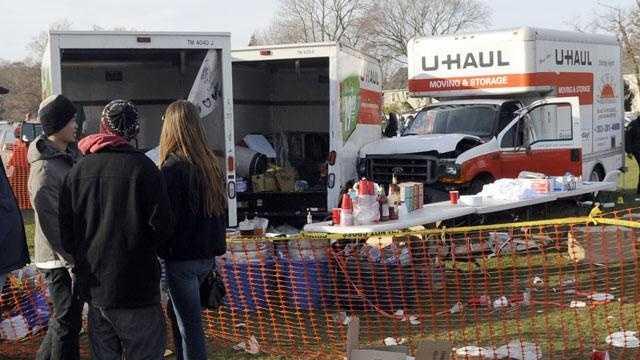 Harvard-Yale Tailgating Crash