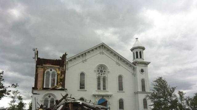 Monson Tornado Church - 28110806