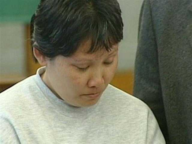 Li Rong Zhang was charged with killing her 8-year-old son by lighting a hibachi-style charcoal grill inside a bedroom in their apartment then barricading the door.  She was found not guilty by reason of insanity.