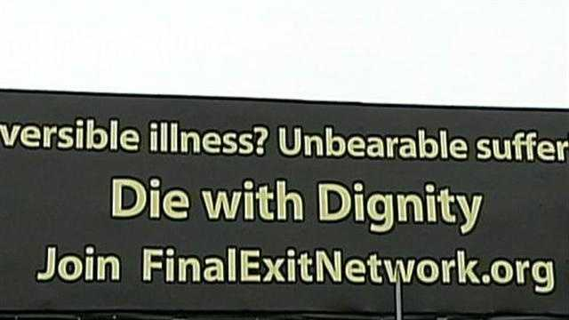ASSISTED SUICIDE BILLBOARD
