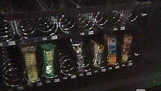 Snacks In Vending Machine - 2498127