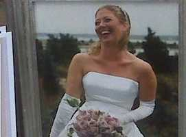Laura Stone on her wedding day.