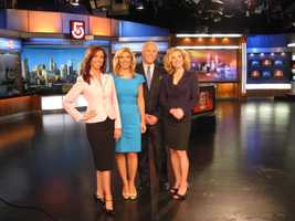 The EyeOpener team: JC Monahan, Bianca de la Garza, Randy Price and Dorothy Krysiuk