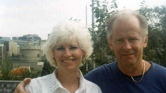 Bulger with girlfriend Catherine Greig in a photo released by the FBI.  When and and where it was taken was not disclosed.