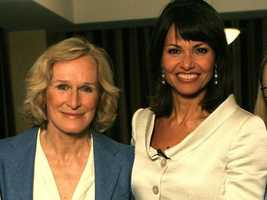 Liz is seen with actress Glenn Close who was recognized in Boston for her work in reducing the stigma of mental illness.