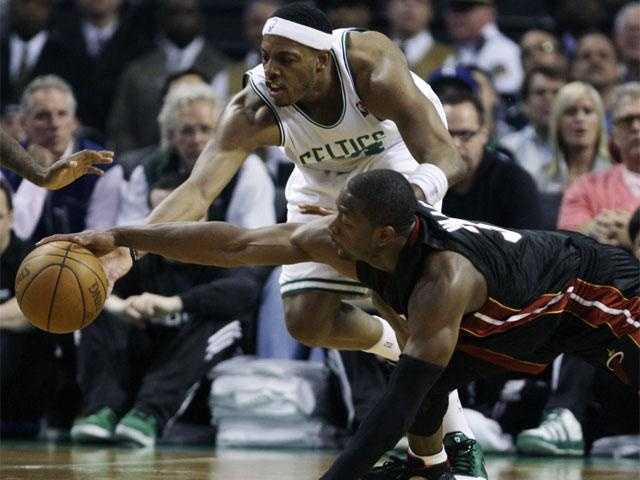 Pierce has averaged 21.8 points per game over his 15-year NBA career