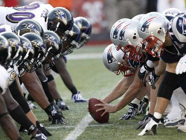 No, it's not deja vu. The New England Patriots and the Baltimore Ravens are once again squaring off for the AFC title and a ticket to the Super Bowl. Take a look back at last year's 23-20 Pats win.