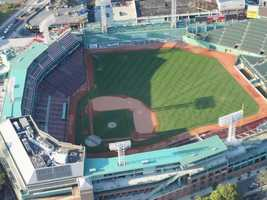 The view right above Fenway Park