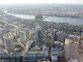 A different view of the area around the Pru.