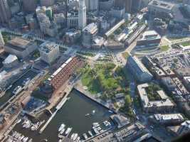 The area around Long Wharf.