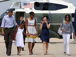 President Obama and his family will spend a week on Martha's Vineyard this summer.