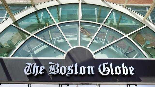Boston Globe exterior -- [AP] GOOD GENERIC PIC - 19357735