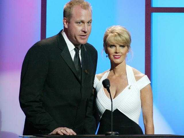 Schilling and his wife Shonda at the 2003 ESPY Awards.