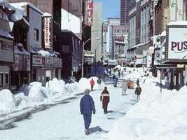 Lower Washington Street in Boston