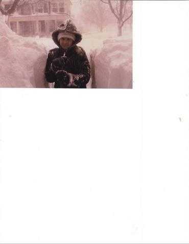 Impatient Shoveler 7 Feb. 1978