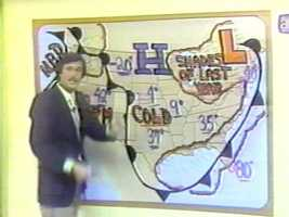 The forecast presentation was very different in the 1970s!