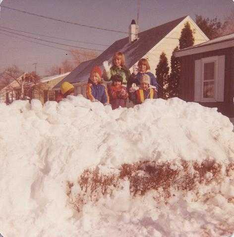 Peabody MA, Sylvia Road Blizzard of 1978
