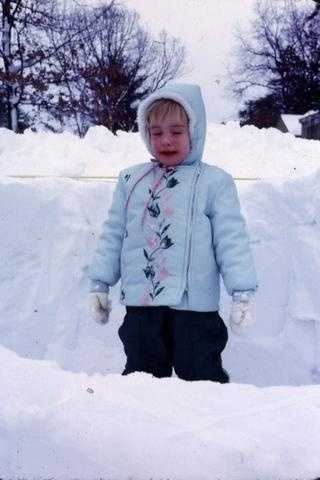 The snow was deeper when I was younger!