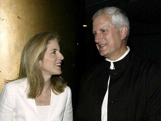 Caroline Kennedy and her husband, Edwin Schlossberg, attend MoMA's 36th Annual Party, June 7, 2004 in New York City.