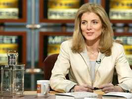 Caroline Kennedy, editor of 'Profiles in Courage for Our Time,' talks about the book May 12, 2002 on NBC's 'Meet the Press'
