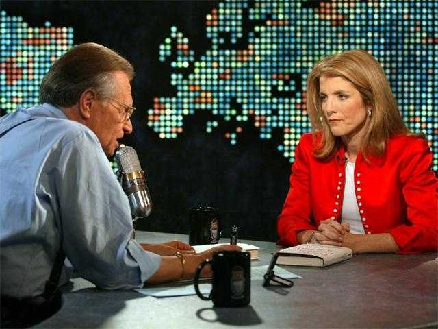 Caroline Kennedy is interviewed by Larry King on CNN, May 7, 2002.