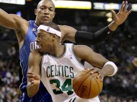 Pierce has said that basketball kept him out of trouble as a youth growing up in a suburb of L.A. in the 1980s.