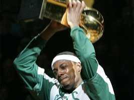 Pierce had said it was his wish to retire with the Celtics.