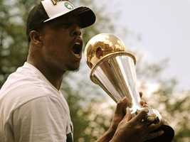 The trade of Boston Celtics' captain Paul Pierce becomes official on July 10. Until his trade to the Brooklyn Nets, Paul Pierce, 35, had played his entire career with the Boston Celtics.