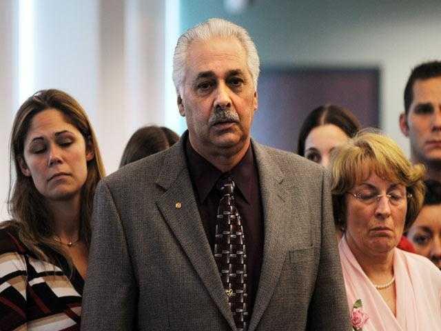 Rachel's parents after the verdict was announced.