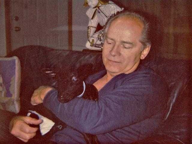 Bulger is shown holding a goat in this undated photo taken shortly before he disappeared in 1995