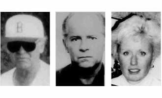 FBI photos of Bulger, taken in the 1980s and his girlfriend, Catherine Greig, who traveled with the former gangster.