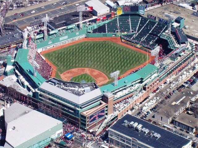 """The Red Sox call Fenway Park """"America's Most Beloved Ballpark."""""""