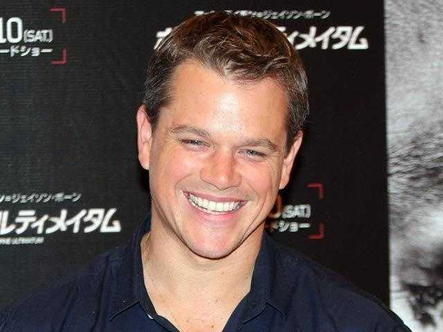 """Matt Damon was born across the Charles River in Cambridge. """"Good Will Hunting"""" launched his career."""