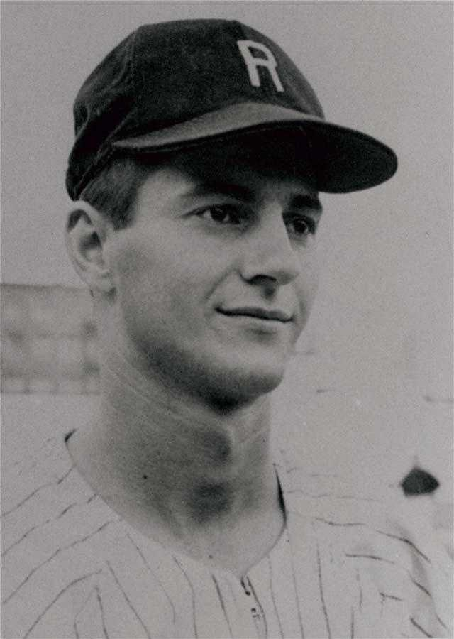 Carl Yastrzemski, shown in 1959 as a member of the Raleigh Capitals, hit .377 to lead the Carolina League.