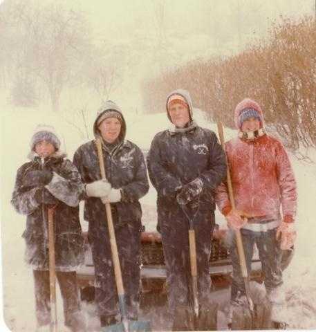 Blizzard of 1978 Stoneham, MA