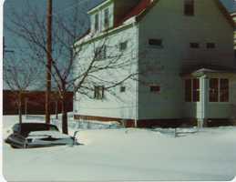 Elton Street - Everett, MA, Blizzard of '78
