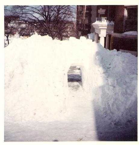 Blizzard of 78 Tunnel to Comm Avenue
